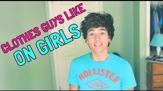 getlinkyoutube.com-CLOTHES GUYS LIKE ON GIRLS | Paul Zimmer