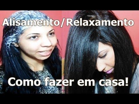 ♡ Salon Line - GUANIDINA ♡ Alisamento/Relaxamento em casa! ♡ Jéssica Cavalcanti