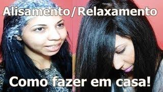 getlinkyoutube.com-♡ Salon Line - GUANIDINA ♡ Alisamento/Relaxamento em casa! ♡ Jéssica Cavalcanti