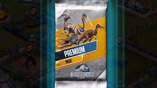 getlinkyoutube.com-PREMIUM PACK - Jurassic World the Game