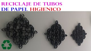 getlinkyoutube.com-MANUALIDADES CON ROLLOS DE PAPEL HIGIENICO / DIY RECYCLE TOILET PAPER ROLLS