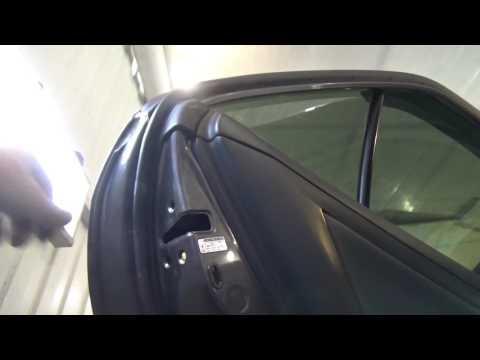 Как разобрать и собрать, наружную ручку передней и задней двери Toyota Camry Vl.