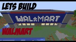 getlinkyoutube.com-Minecraft Let's Build #15 Walmart