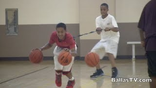 getlinkyoutube.com-Tremont Waters CRAZY Guard Workout - 14 yr old compared to Chris Paul