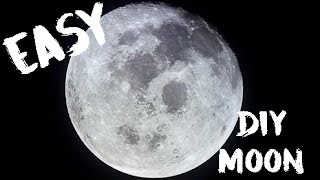 How to Paint a Realistic Moon | Oil Painting Hoodie Skit