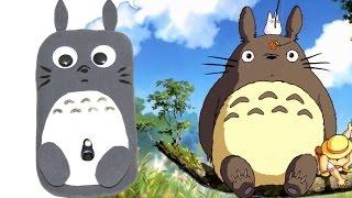 getlinkyoutube.com-Cómo hacer Funda para móvil  kawaii de Totoro