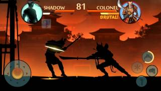 Shadow Fight 2 Defeat Shogun use Daisho
