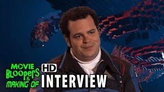 getlinkyoutube.com-Pixels (2015) Behind the Scenes Movie Interview - Josh Gad is 'Ludlow'