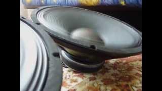 Mivarom - Difuzor Alien 15 inch AN-0815 8ohm - Test Sound -