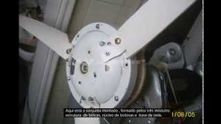 getlinkyoutube.com-Gerador Eólico feito com  ventilador de teto -   3a parte