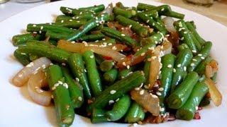 getlinkyoutube.com-Green Bean Recipe for people who hate green beans
