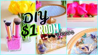 getlinkyoutube.com-DIY Dollar Store Room Decor & Organization! 2015 | Cute & Cheap!
