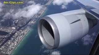 getlinkyoutube.com-American Airlines Boeing 767-300 Business Class Milan-Miami FANTASTIC [AirClips full flight series]