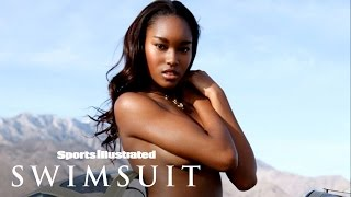 getlinkyoutube.com-Demaris Lewis Rides A Plane Topless In Palm Springs | Sports Illustrated Swimsuit