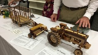 getlinkyoutube.com-Amazing Hand Made Toy Wooden Tractors and Farm Machinery