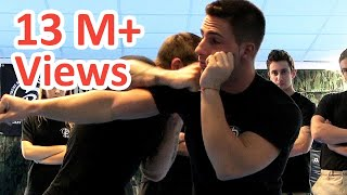 getlinkyoutube.com-KRAV MAGA TRAINING • How to win faster a street fight