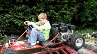 getlinkyoutube.com-Twin Engine Kart Chassis Dyno