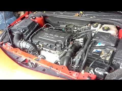 Замена  ремня генератора opel astra j  двигатель A14NET