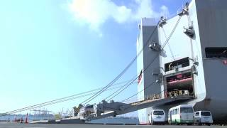 getlinkyoutube.com-いざ、神業が見られる巨大立体駐車場内へ  -- Let's get on a vessel by car --