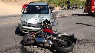 getlinkyoutube.com-Arian Da Hornet - ACIDENTE DE MOTO GRAVE, IMPRESSIONANTE, EM MORUNGABA-SP