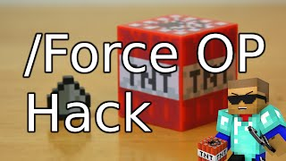 getlinkyoutube.com-Force OP - Minecraft 1.8.x - 1.9 How to Hack a Minecraft Server - ITXtutor