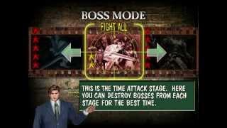 getlinkyoutube.com-Boss Mode Fight All - The House Of The Dead 2 (Speedrun) 05m30s65