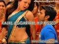 Kajal Aggarwal Navel and Hip Kissed - Slow Motion HD Video - Masalaclips.in
