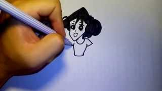 getlinkyoutube.com-มิซาเอะ แม่ของ ชินจัง by วาดการ์ตูนกันเถอะ สอนวาดรูป การ์ตูน