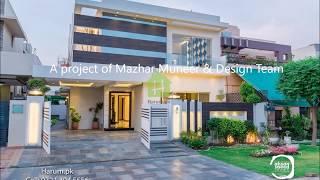 Modern House Design - 10 Marla House width=