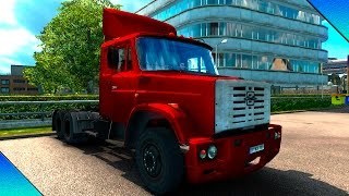 getlinkyoutube.com-Euro Truck Simulator 2 -- Mod Zil 4421 v.1.18 By:Stas556