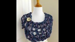 getlinkyoutube.com-Episode 54 : How to Make the Arm Knit Button Wrap