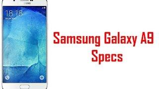 getlinkyoutube.com-Samsung Galaxy A9 Specs & Features