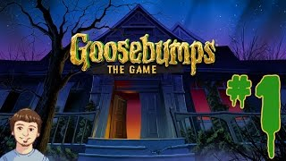 getlinkyoutube.com-Goosebumps: The Game Walkthrough - PART 1 - The Movie Video Game