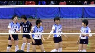 getlinkyoutube.com-女子中学生バレーボール全国大会 長崎 VS 福井 ハイキュー JOC | Volleyball junior high school Haikyuu Japan