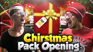 getlinkyoutube.com-FIFA 16 : OMG PACK LUCK !! WEIHNACHTS DUAL PACK OPENING !!