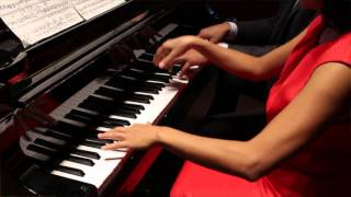 getlinkyoutube.com-Stay positive, make beautiful music: Georges Bizet, piano duet by Jon and Joy Siapno.