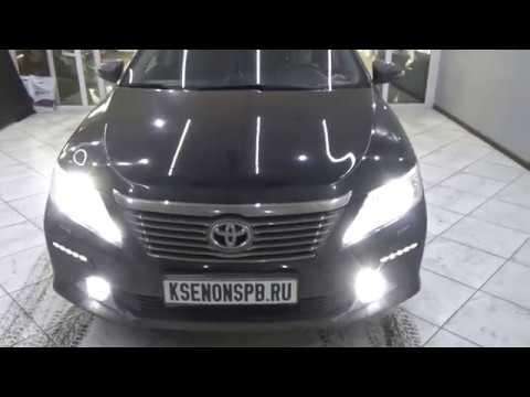 Toyota Camry VII (XV50) + BI-LED + DRL NOLDEN + FOG MTF + HPL Micron