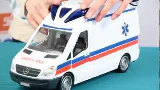 getlinkyoutube.com-Demo - Ambulance / Ambulans - Rescue Team / Zespół Ratowniczy - Dickie Toys - www.MegaDyskont.pl