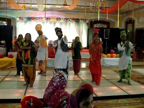 Bhangra The Live Interactive Punjabi Folk Group Dance At ITC Central Hotel Mumbai