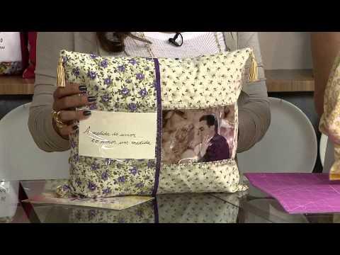 Aprenda a fazer uma linda capa para almofada!