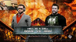 getlinkyoutube.com-WWE 2K15 GRIME vs GRIM. EXCLUSIVE MATCH!
