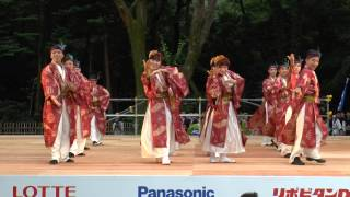 getlinkyoutube.com-Hanoi Sennen Yosakoi Team /ハノイ1000年よさこい連 <ベトナム> ~原宿表参道元氣祭 Super Yosakoi 2014/ 文化館ステージ