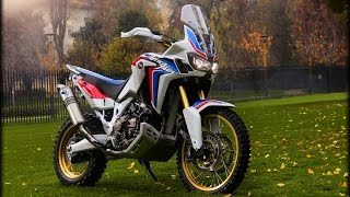 Honda Africa Twin Exhaust Sound Compilation