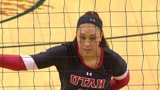 getlinkyoutube.com-Recap: Utah women's volleyball's defense shines in win over Oregon