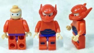 getlinkyoutube.com-빅히어로6 베이맥스 레고 짝퉁 로봇 조립 리뷰 Big Hero 6 BayMax Lego knockoff mini figures