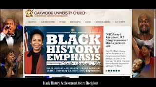getlinkyoutube.com-Oakwood U. Pr. Carlton Byrd invited LGBT Advocate Rep. Sheila Jackson for an Achievement Award