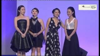 getlinkyoutube.com-最佳贺岁专辑奖 2015 娱协奖 -Mgirls 四个女生