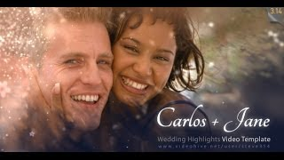 getlinkyoutube.com-Wedding Highlights / After Effects template project