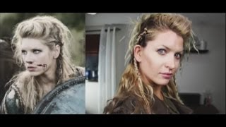 getlinkyoutube.com-How to do Lagertha's hair in The Vikings