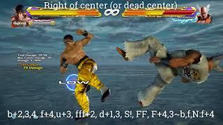 Tekken 7 Law 100 DMG from back